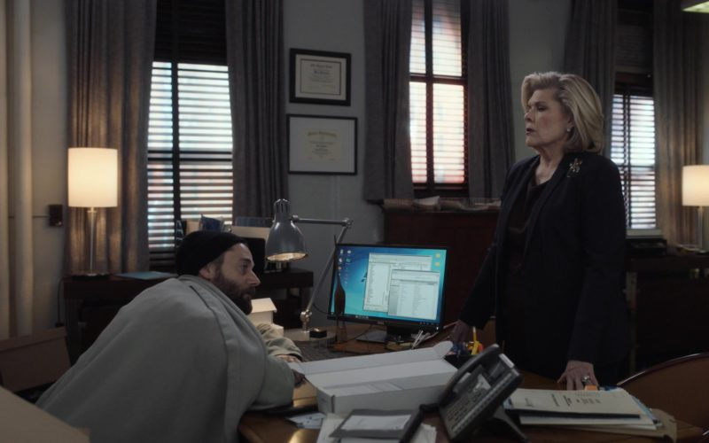 Dell Computer Monitor Used by Ryan Eggold in New Amsterdam