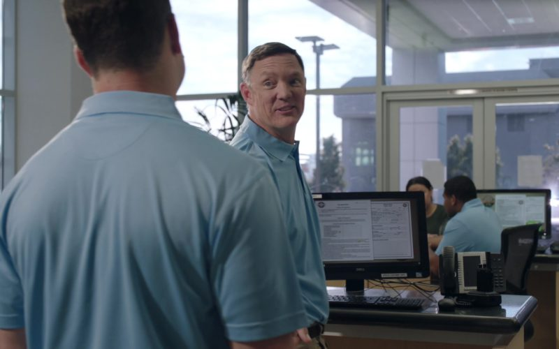Dell Monitor Used by Matthew Lillard in Good Girls