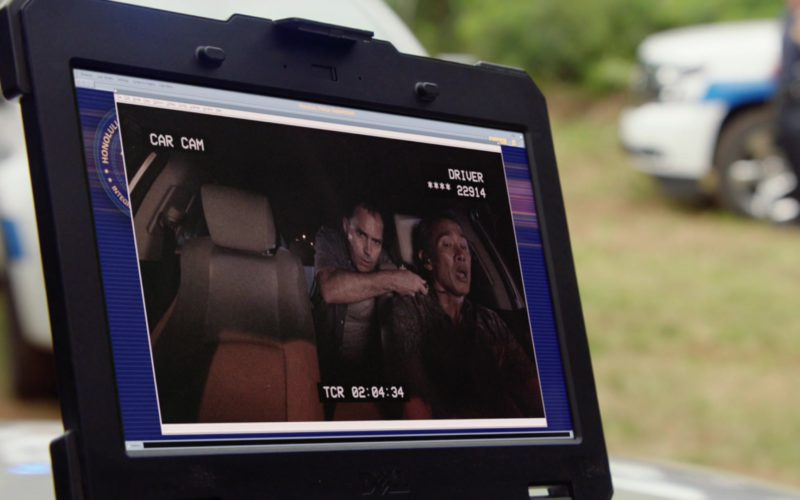 Dell Notebook in Hawaii Five-0
