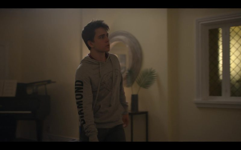 Diamond Supply Co. Brilliant Hoodie Worn by Sam McCarthy in Dead to Me (1)