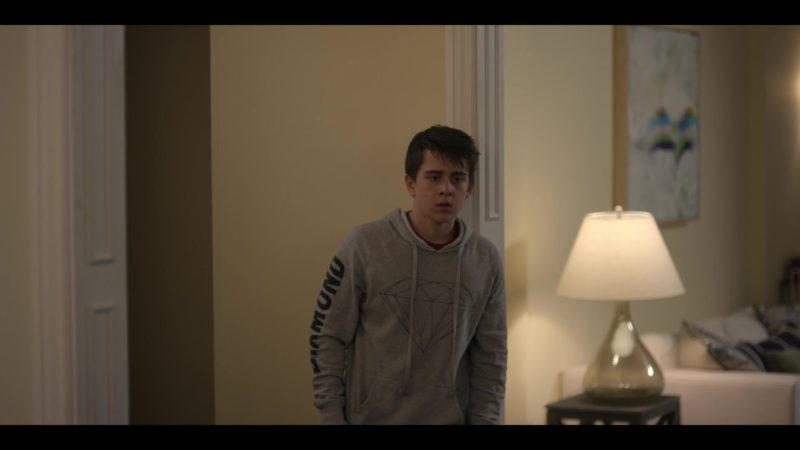 Diamond Supply Co. Brilliant Hoodie Worn by Sam McCarthy in Dead to Me - Season 1, Episode 6 (2019) TV Show Product Placement