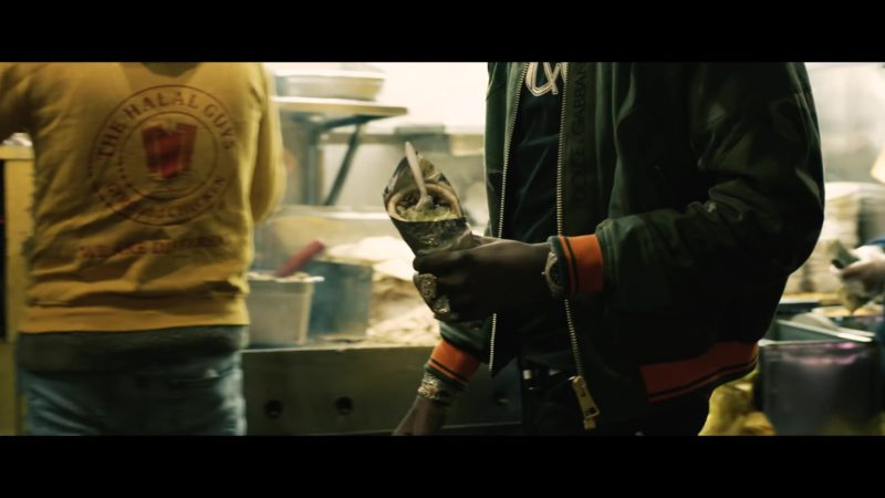 Dolce&Gabbana Camo Green Jacket With Hoodie Worn by Young Dolph in Crashin' Out (2019) - Official Music Video Product Placement