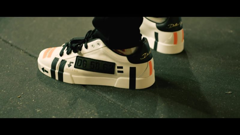 Dolce&Gabbana Sneakers Worn by Young Dolph in Crashin' Out (2019) Official Music Video Product Placement
