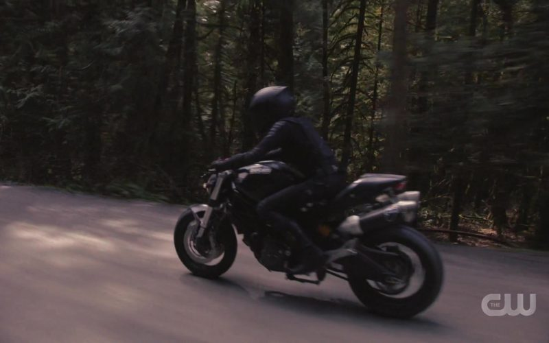 Ducati Motorcycle in Supergirl
