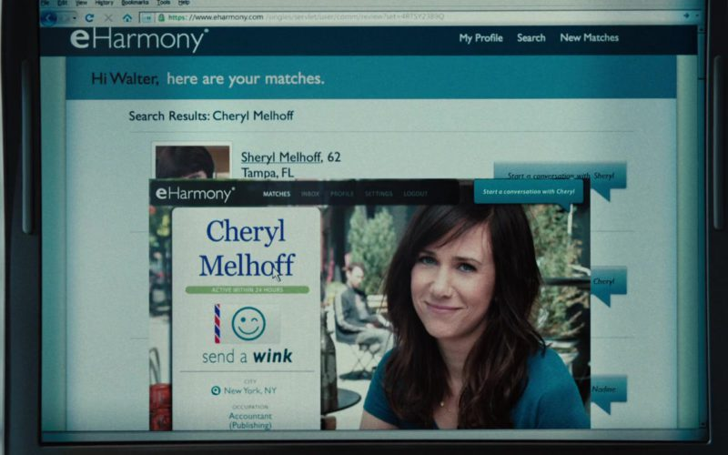 Eharmony Online Dating Website in The Secret Life of Walter Mitty (3)