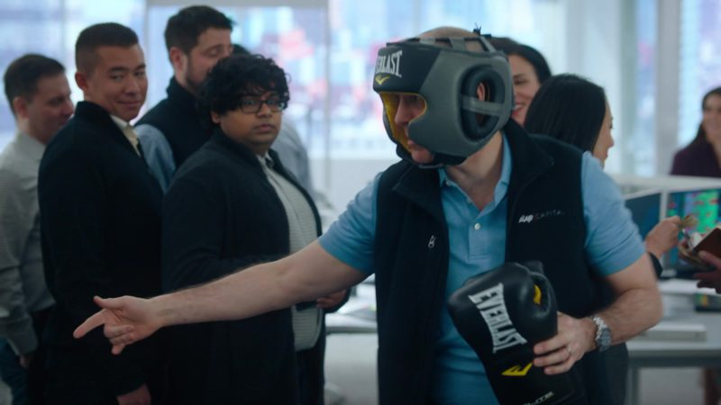 Everlast Boxing Headgear & Gloves Worn by Kelly AuCoin (Dollar Bill Stearn) in Billions - Season 4, Episode 8, Fight Night (2019) - TV Show Product Placement