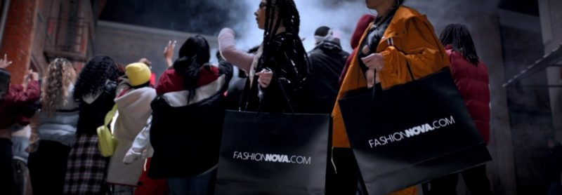 """Fashion Nova Online Store Paper Bags in """"Wish Wish"""" by DJ Khaled ft. Cardi B, 21 Savage (2019) - Official Music Video Product Placement"""
