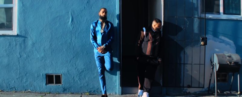 "Fendi Shirt Worn by DJ Khaled in ""Higher"" ft. Nipsey Hussle, John Legend (2019) - Official Music Video Product Placement"
