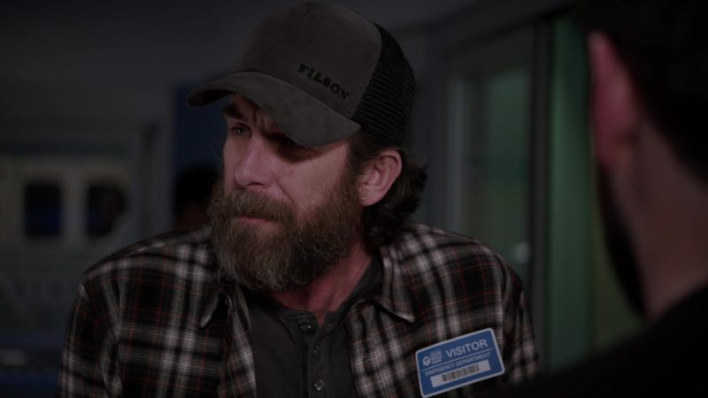 Filson Cap Worn by Actor in Chicago Med - Season 4, Episode 21, Forever Hold Your Peace (2019) TV Show Product Placement