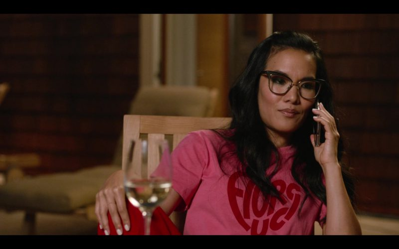 Fiorucci T-Shirt (Red) Worn by Ali Wong in Always Be My Maybe (5)