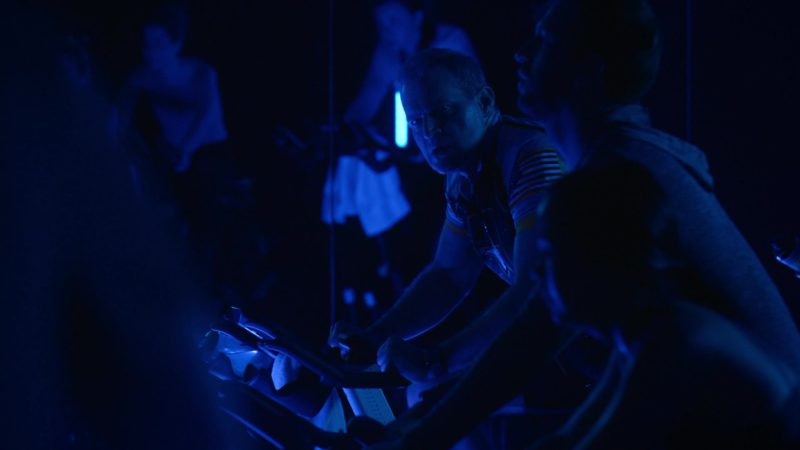 Flywheel Indoor Cycling Studio (METHOD 45) in Billions - Season 4 Episode 9, American Champion (2019) TV Show Product Placement