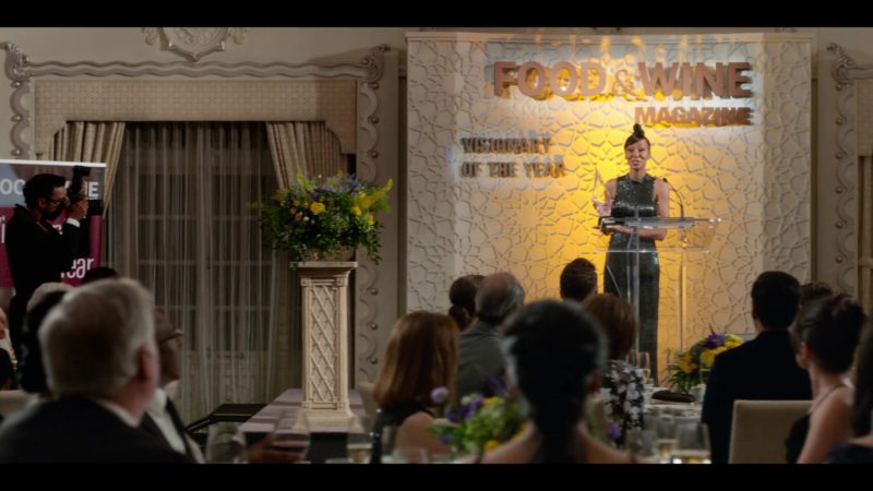 Food & Wine Magazine Visionary of the Year in Always Be My Maybe (2019) Movie Product Placement