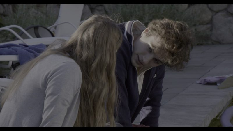 Fred Perry Jacket Worn by Alex Fitzalan in The Society - Season 1, Episode 4, Drop by Drop (2019) TV Show Product Placement