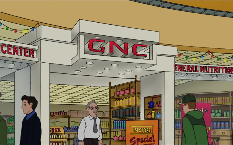 GNC (General Nutrition Centers) in Eight Crazy Nights (1)