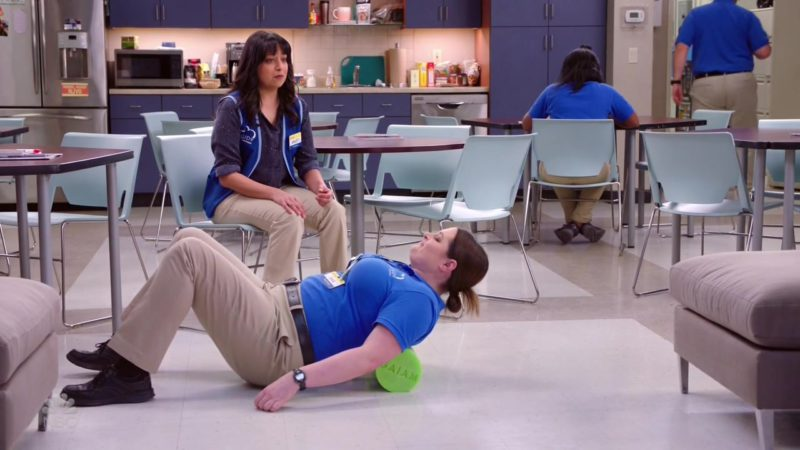 Gaiam (Green) Used by Lauren Ash in Superstore - Season 4, Episode 19, Scanners (2019) - TV Show Product Placement