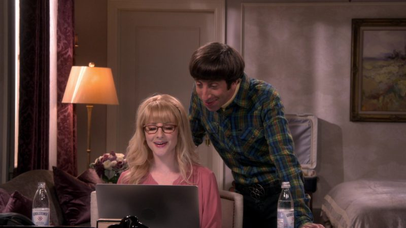 Gerolsteiner Mineral Water in The Big Bang Theory - Season 12, Episode 23, The Change Constant (2019) - TV Show Product Placement