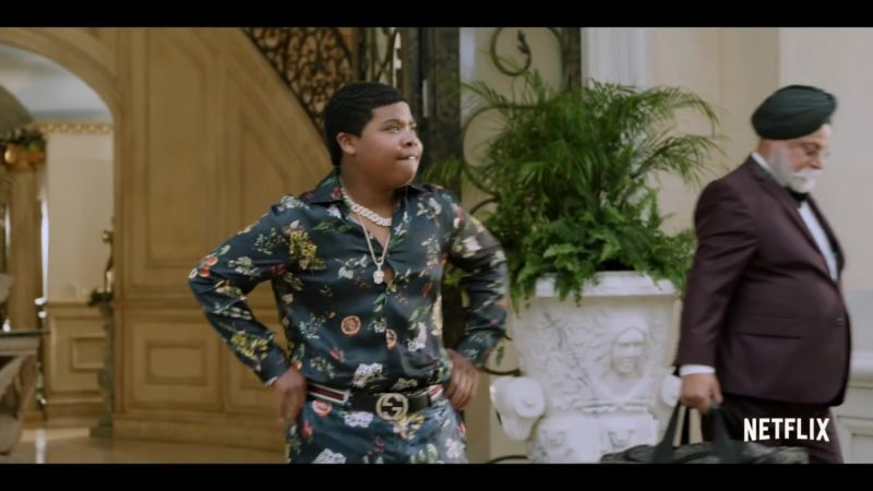 Gucci Belt Worn by Benjamin Flores Jr. in Rim of the World (2019) - Movie Product Placement