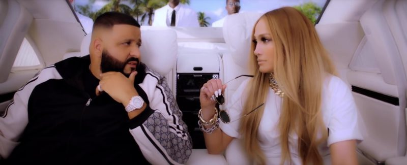 """Gucci Jacket (Black & White) Worn by DJ Khaled in """"Jealous"""" (2019) - Official Music Video Product Placement"""