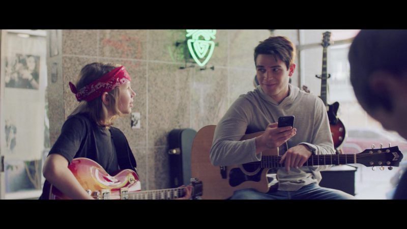 Guild Acoustic Guitar Used by KJ Apa in The Last Summer (2019) Movie Product Placement