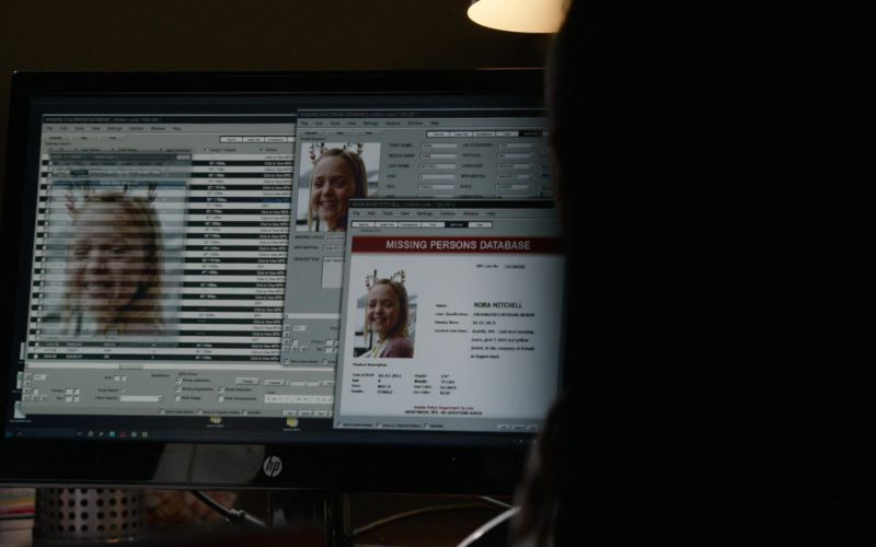HP Monitor in The Blacklist