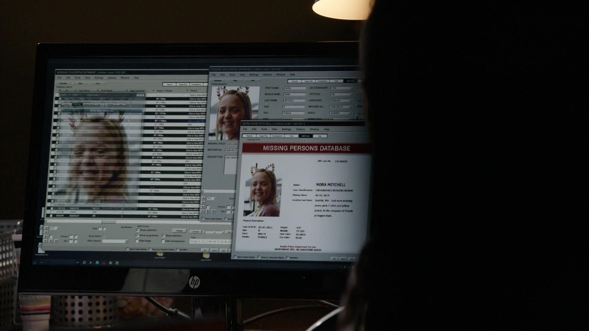 HP Monitor in The Blacklist - Season 6, Episode 20, Guillermo Rizal