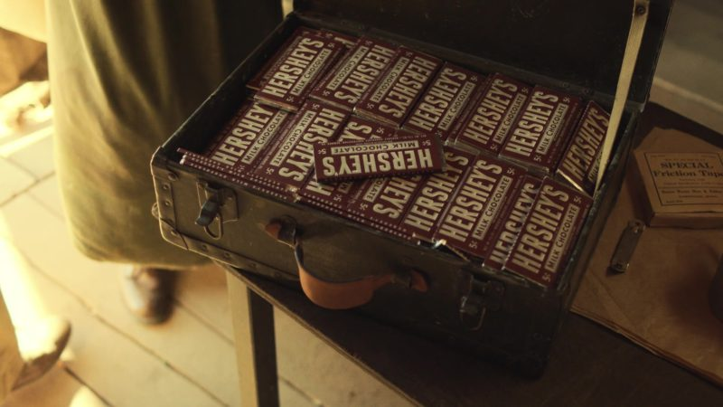 Hershey's Chocolates in Catch-22 - Episode 1 (2019) - TV Show Product Placement