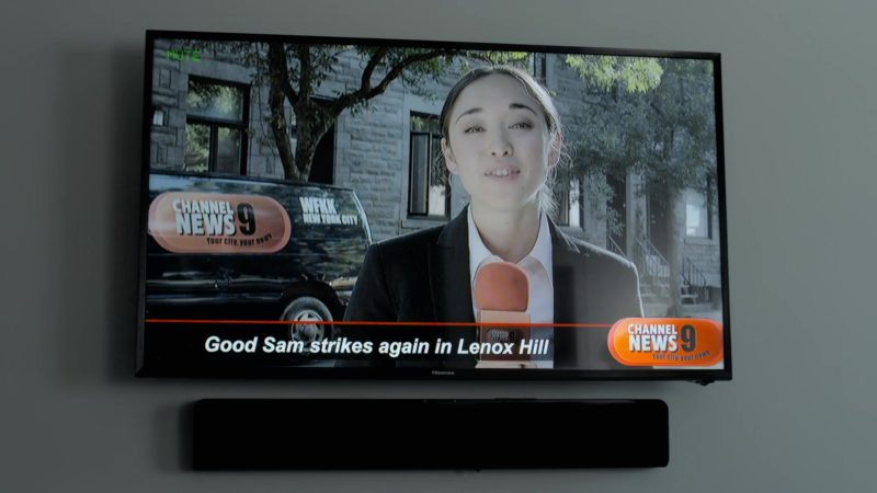 Hisense TV in Good Sam (2019) - Movie Product Placement