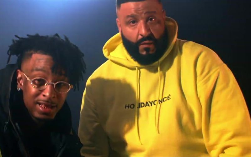 Holidayoncé Yellow Hoodie (Collection by Beyoncé) Worn by DJ Khaled (6)