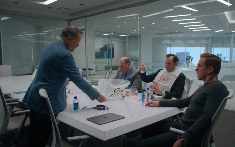Joe's Stone Crab, Apple MacBook Laptop and Fiji Water in Billions