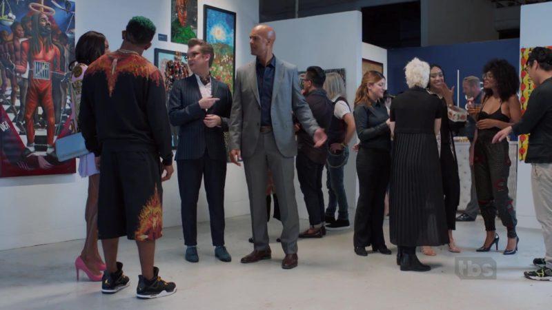 Jordan Black Sneakers Worn by Allen Maldonado in The Last O.G. - Season 2, Episode 7, Criminal Minded (2019) - TV Show Product Placement