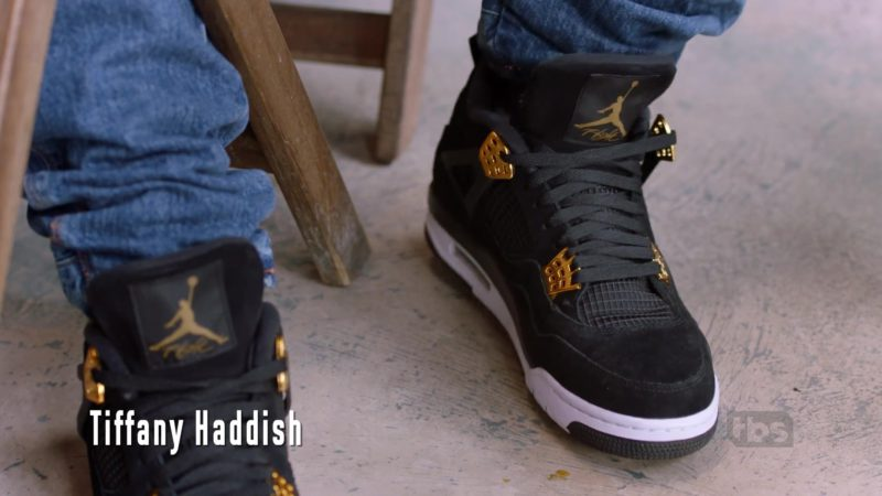 Jordan Black Suede High-Top Sneakers in The Last O.G. - Season 2, Episode 9, Your Mom's in My Business (2019) - TV Show Product Placement