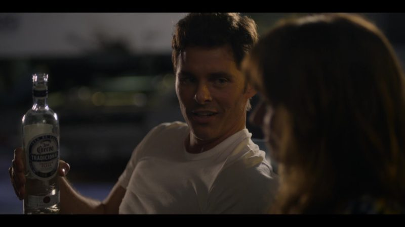 Jose Cuervo Tradicional Tequila Held by James Marsden in Dead to Me - Season 1, Episode 7 (2019) - TV Show Product Placement