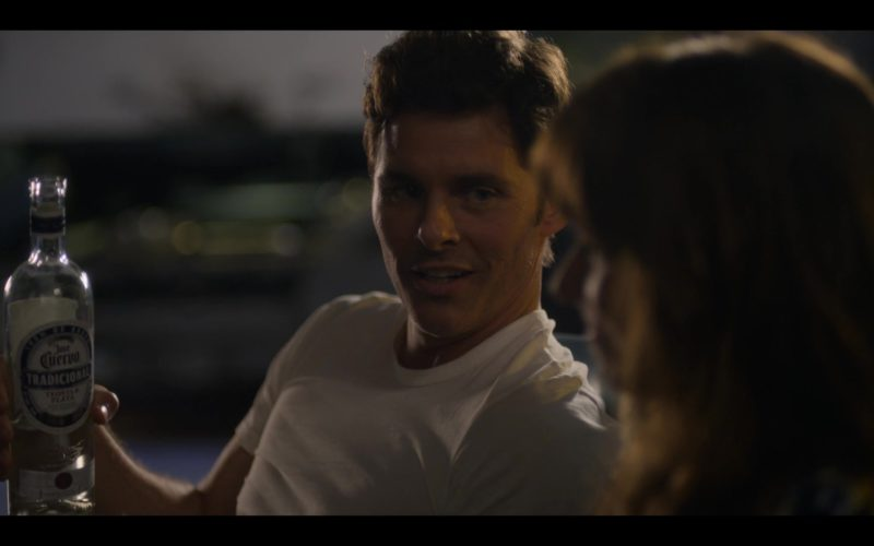 Jose Cuervo Tradicional Tequila Held by James Marsden in Dead to Me