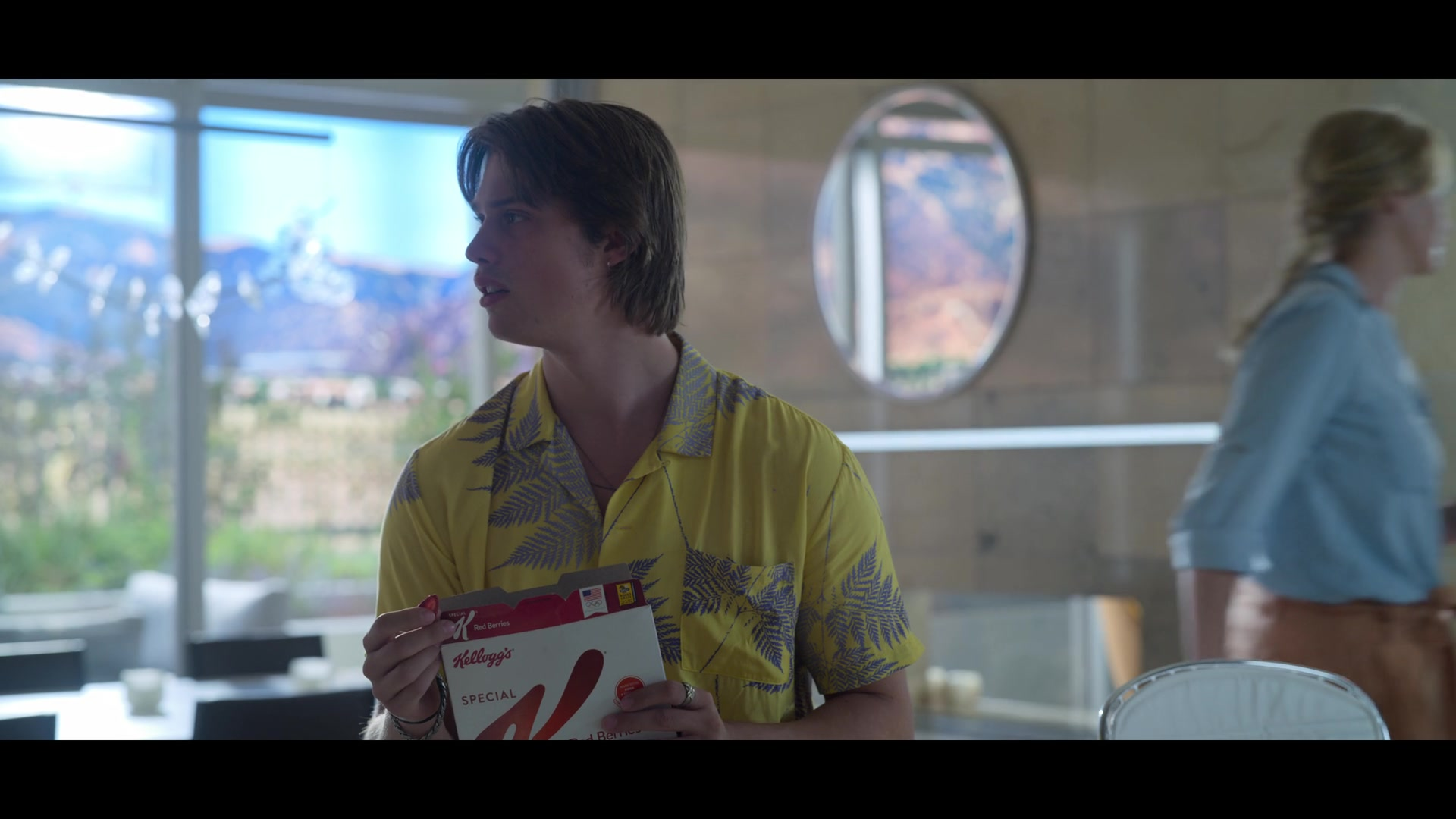 Kellogg's Special K Cereal Held by Nicholas Galitzine in