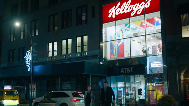 Kellogg's and AT&T in Billions - Season 4 Episode 9, American Champion (2019) - TV Show Product Placement