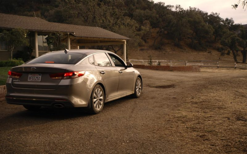 Kia Optima Car in Sneaky Pete