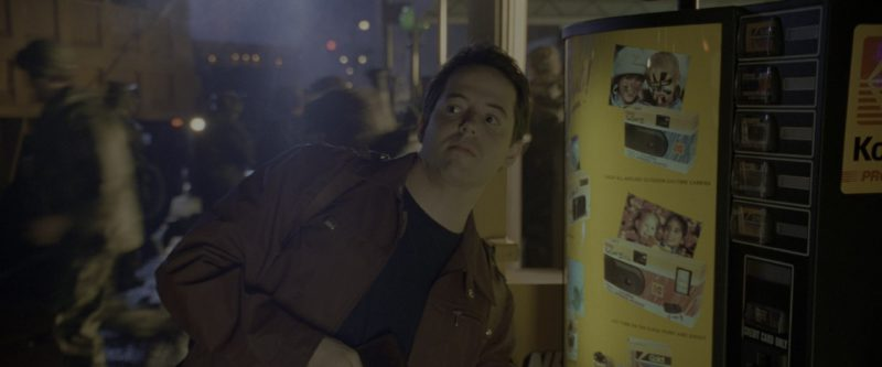 Kodak Vending Machine Used by Matthew Broderick in Godzilla (1998) - Movie Product Placement