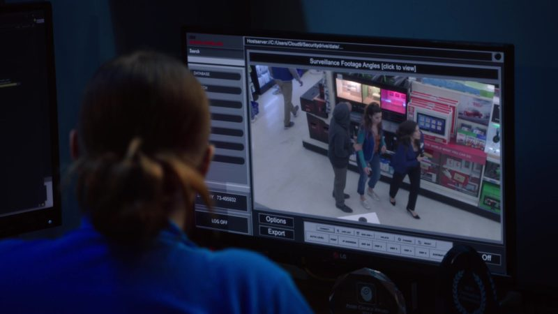 LG Monitor Used by Lauren Ash in Superstore - Season 4, Episode 22, Employee Appreciation Day (2019) - TV Show Product Placement