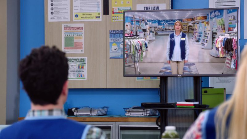 LG TV in Superstore - Season 4, Episode 22, Employee Appreciation Day (2019) - TV Show Product Placement
