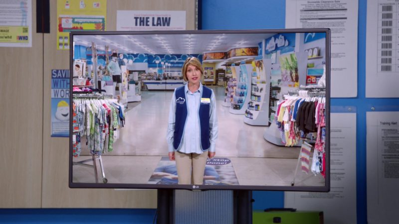 LG TV in Superstore - Season 4, Episode 22, Employee Appreciation Day (2019) TV Show Product Placement
