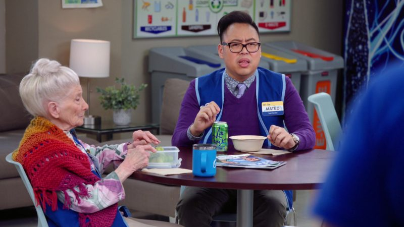 LaCroix Sparkling Water Held by Nico Santos in Superstore - Season 4, Episode 21, Sandra's Fight (2019) - TV Show Product Placement