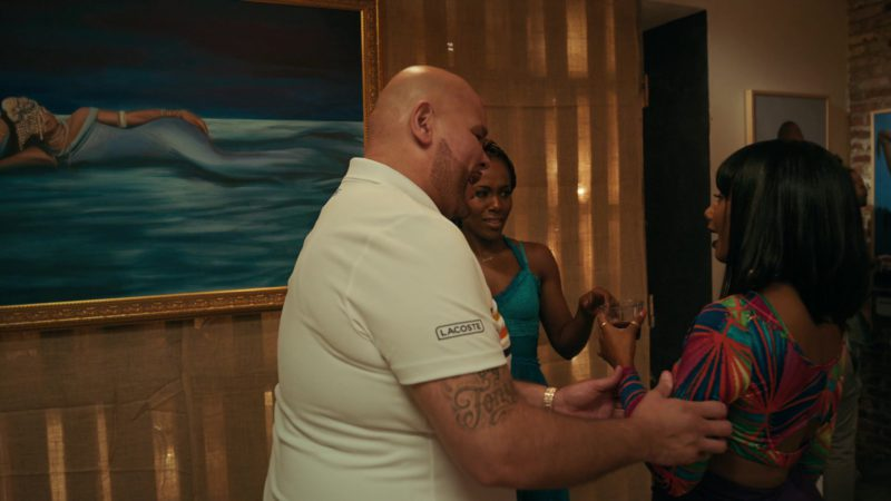 Lacoste Polo Shirt Worn by Fat Joe (Joseph Antonio Cartagena) in She's Gotta Have It - Season 2, Episode 9, #IAmYourMirror (2019) TV Show Product Placement
