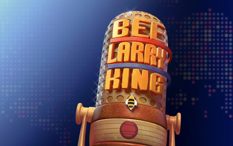 Larry King Show in Bee Movie (1)