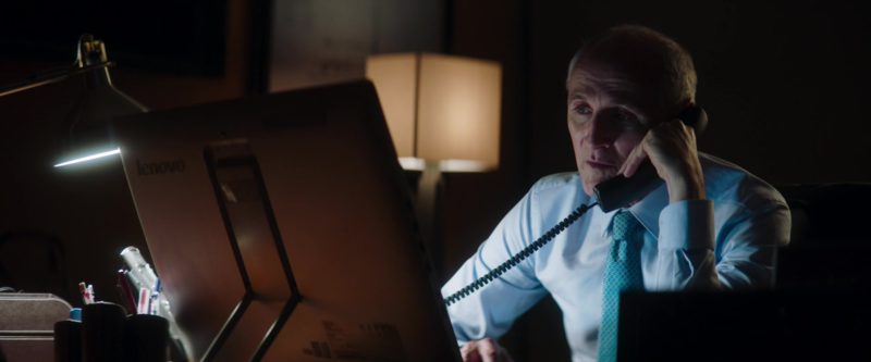 Lenovo All-In-One Computer Used by Colm Feore in Greta (2018) - Movie Product Placement