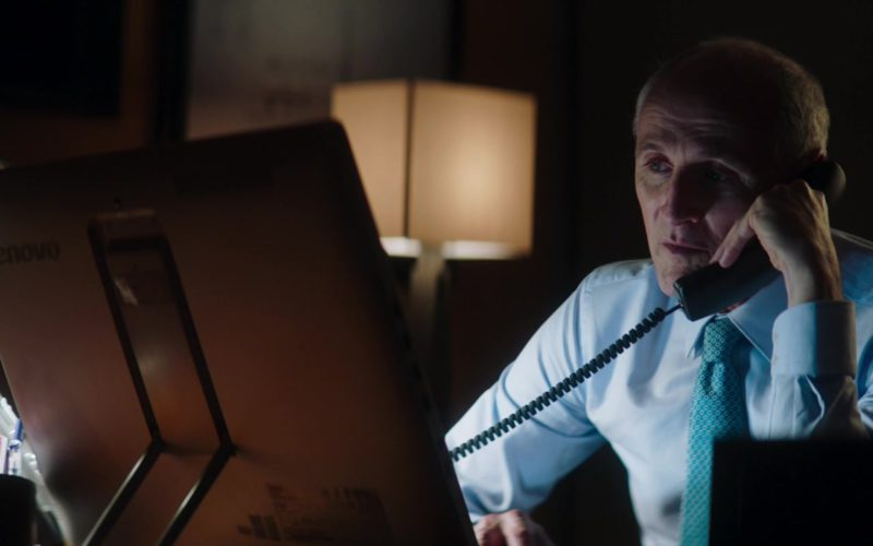 Lenovo All-In-One Computer Used by Colm Feore in Greta