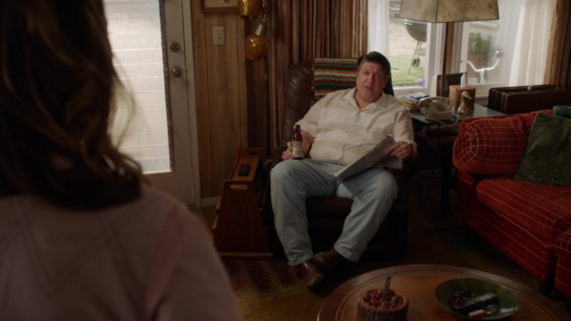 Lone Star Beer Drunk by Lance Barber in Young Sheldon - Season 2, Episode 21, A Broken Heart and a Crock Monster (2019) - TV Show Product Placement