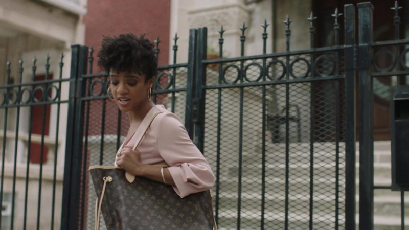 Louis Vuitton Handbag Used by Tiffany Boone in The Chi - Season 2, Episode 6, A Leg Up (2019) TV Show Product Placement