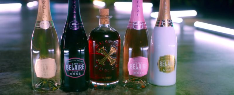 "Luc Belaire Sparkling Wines and Bumbu Rum in ""Jealous"" by DJ Khaled ft. Chris Brown, Lil Wayne, Big Sean (2019) - Official Music Video Product Placement"
