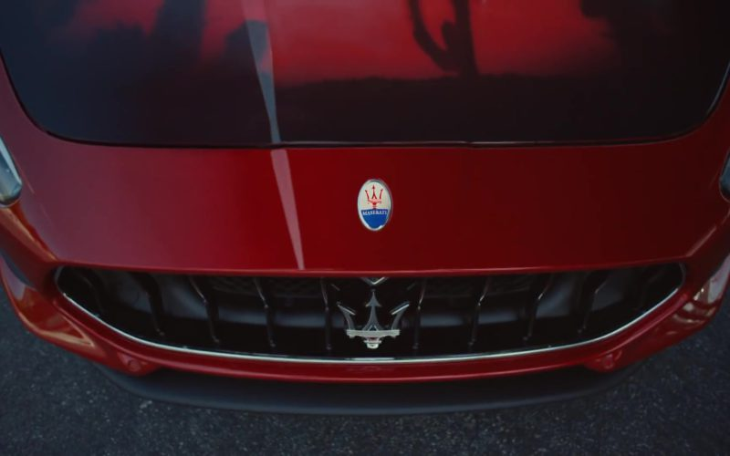 Maserati GT Convertible Red Sports Car (2)