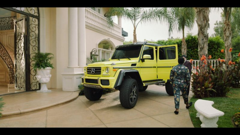 Mercedes-Benz G-Class G 500 4x4² SUV in Rim of the World (2019) Movie Product Placement